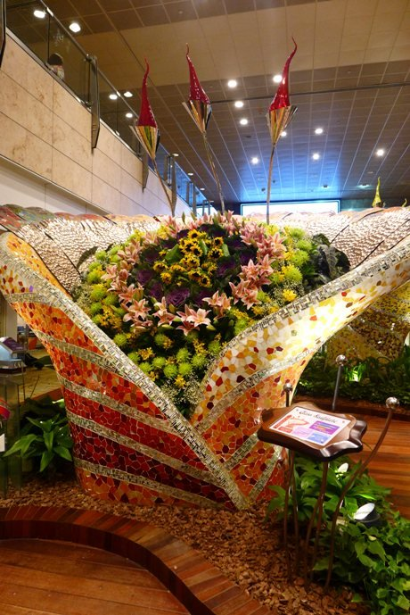 What to do in Singapore; Changi Airport Layover; Singapore Changi Airport Terminal 2; Enchanted Garden